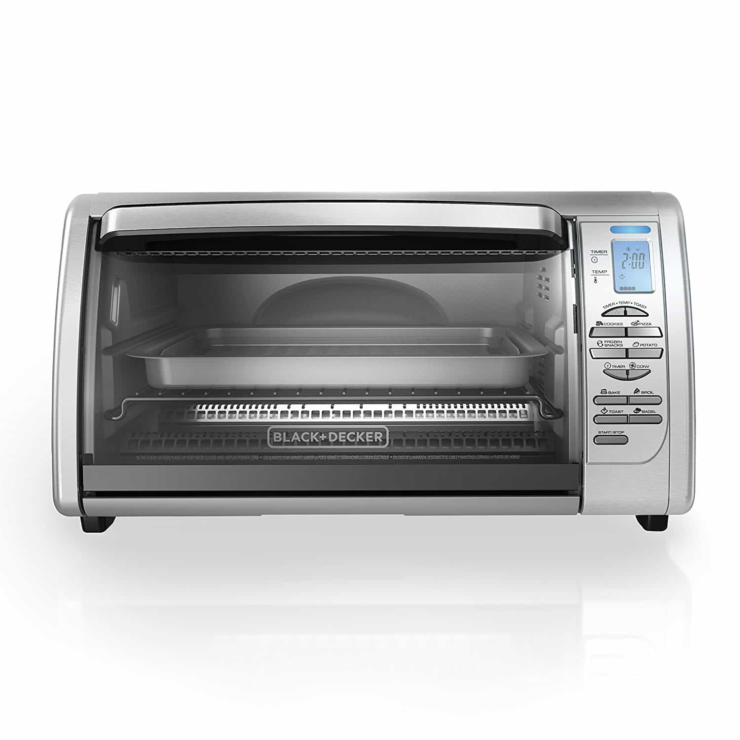 BLACK & DECKER 6 SLICE TOASTER OVEN