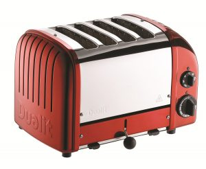 Dualit 4 Slice Red Toaster