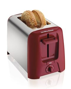 Hamilton 2 Slice Red Toaster