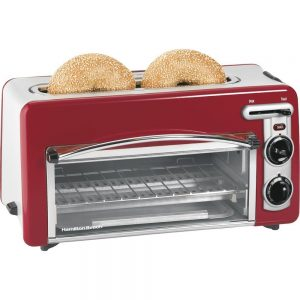 Hamilton Beach Red Toaster Oven