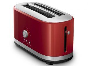 Red 4 Slice Toaster